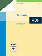 Programa de Estudio 7° Básico - Orientacion (año 2000)