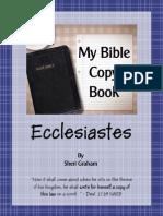 Ecclesiastes Copybook