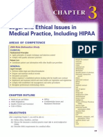 Legal and Ethical Issues in Medical Practice