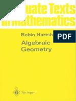 Algebraic Geometry (Hartshorne)