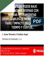 19 PDVSA - Registrando Bajo Condiciones Severas Con Nuevas Herramientas Desplegables de Memoria - MSc Frankling Angel
