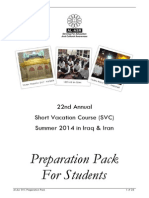 Al Asr 2014 Preparation Pack