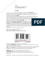 1) Escritura Musical