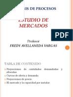 Estudio de Mercados 1 2013