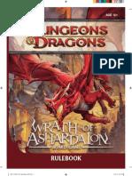 Wrath of Ashardalon Board Game RuleBook (6012949)
