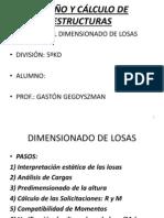Apunte Estructuras LOSAS 5º 2013