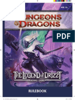 The Legend of Drizzt Board Game Rulebook (6012949)