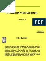 CLASE25;CLONACIONYMUTACIONES