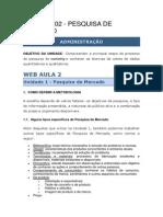Web Aula 02- Pesquisa de Mercado