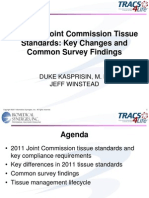2011 Joint Commission Tissue Standards