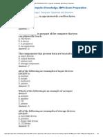 IBPS PREPARATION _ Computer Knowledge, IBPS Exam Preparation5