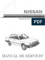 89 1989 Nissan Sentra owners manual