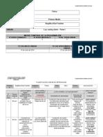 Planificación Física - Primero Medio - Luz - Primera Parte