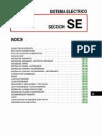 Diagramas del sistema eléctrico del motor Nissan B12