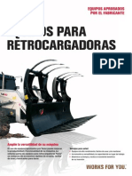 ACCESORIOS RETROEXCAVADORA TEREX