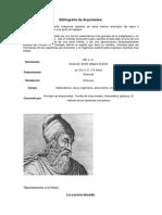 Bibliografía de Arquímedes