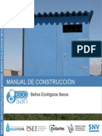 Manual Construccion Baño Seco
