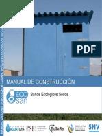 Manual Construccion Baño Seco
