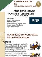 Planeacion Agregada de La Produccion