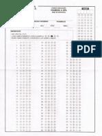 Examen Muestra IPN-Hojas Para Responder