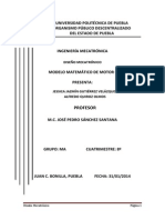Modelo Matematico Motor CD