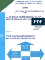 Administración de La Educacion.pp Magister 2014