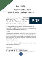 FALUMSA- SPEECH ENLATADO PRELIMINARES + INDAGACIONES (1)