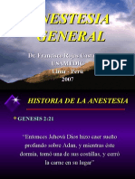 Anestesia General Tipos