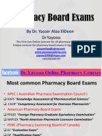 Pharmacy Board Exams