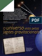 O Universo Visto Pelas Lentes Gravitacionais