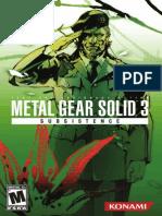 MGS3S Manual