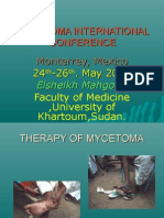 Mycetoma International Conference