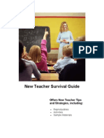 New Teacher Survival Guide