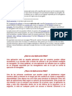 Aplicaciones Web (Trabajo)