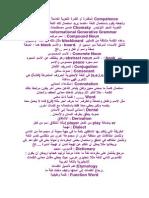 مصطلحات علم الصوتيات