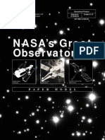 NASA Great Observatories ChandraPaperModel