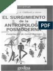 El Surgimiento de La Antropología Posmoderna Carlos Reynoso