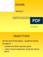 idioms 1