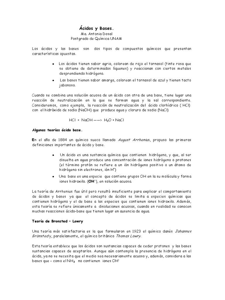 Atractivo ácido Base De Hoja De Cálculo De Neutralización ...