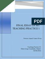 Final Essay-Teaching Practice I
