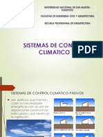 Sistemas de Control Climatico Pasivo