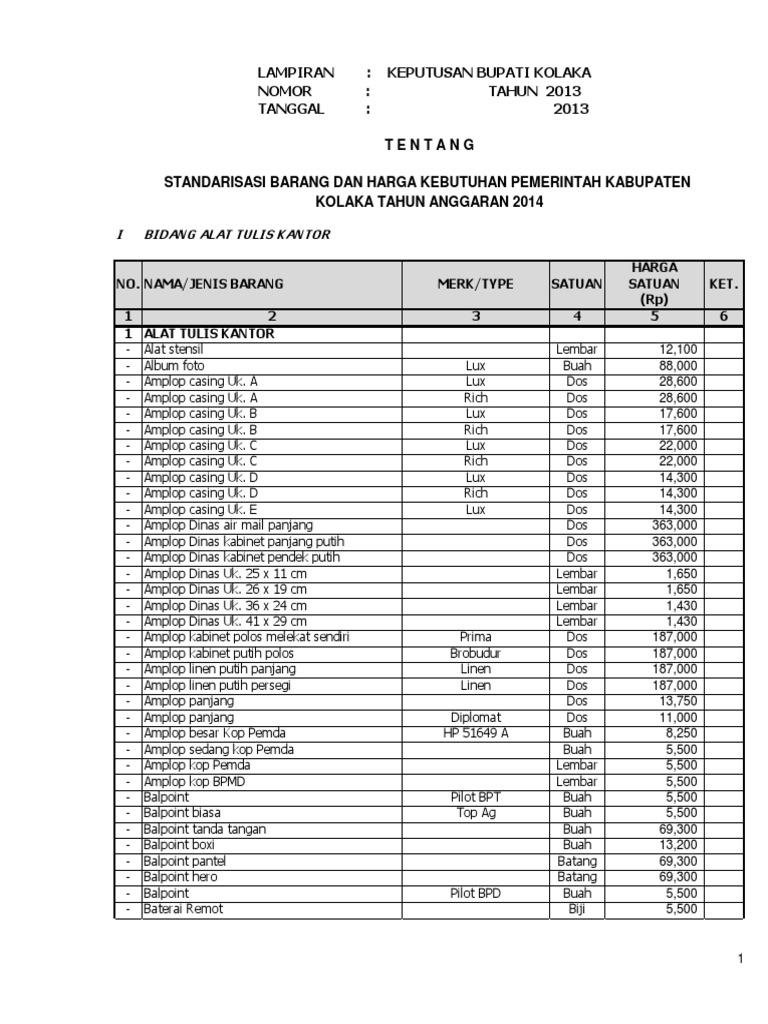 standarisasi ta 2014 rh es scribd com
