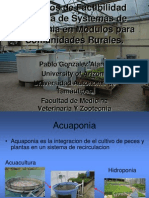 Sistemas de Acuaponia. Para Comunidades Rurales