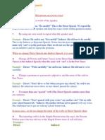 Lesson 5- Indirect Speech
