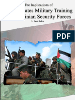 Implications of US Military Training of Palestinian Security Forces