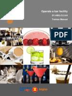 Operate a Bar Facility