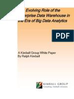1597 EDW Big Data Analytics Kimball