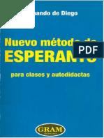 Nuevo Método de Esperanto Para Clases y Autodidactas (Fernando de Diego)