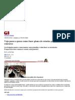 G1 - Veja Passo a Passo Como Fazer Plano de Estudos