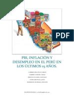 La Economia en El Peru (Ultimos 15 Años)